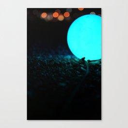 Light and Focus (Blue) Canvas Print