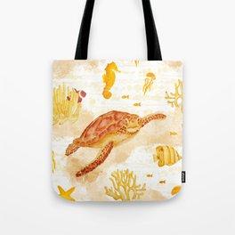 Hawksbill Sea Turtles Tote Bag