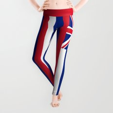 Flag of Hawaii - Authentic High Quality image Leggings