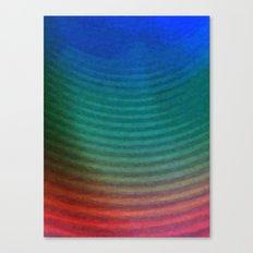 Rainbow Circles Canvas Print