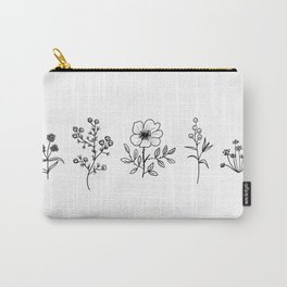 Patagonian Little Wildflowers Carry-All Pouch