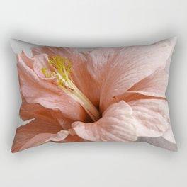 Blossom, Pink Flowers Rectangular Pillow