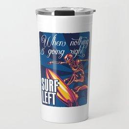 Surf left Travel Mug