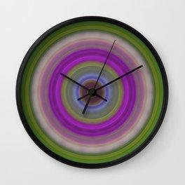 Introspection - Energy Art By Sharon Cummings Wall Clock