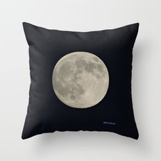 Another August Moon Throw Pillow