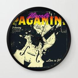 Paganini Wall Clock