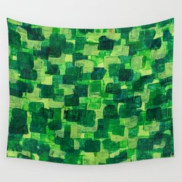 Jade Scales Wall Tapestry