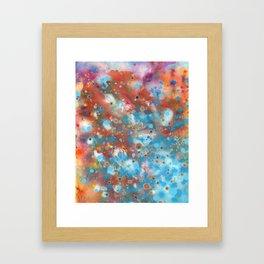 River Reflection Framed Art Print