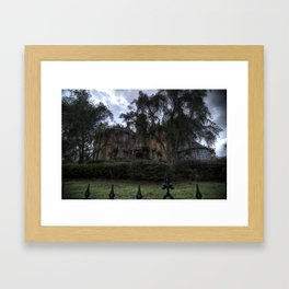 A Very Haunted Mansion Framed Art Print