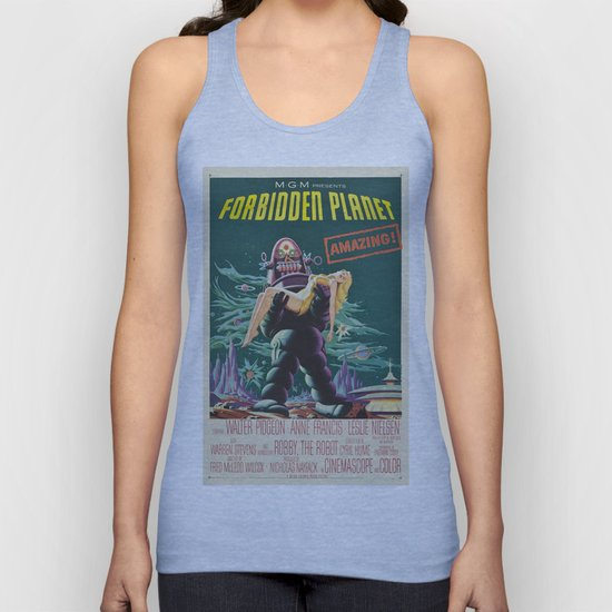Vintage poster - Forbidden Planet by mosfunky