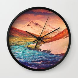 Warm In the Winter Wall Clock