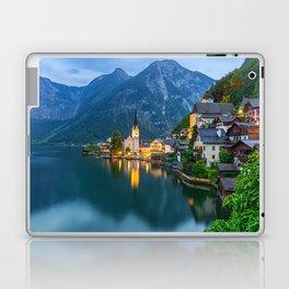 Hallstatt Village, Alps Laptop & iPad Skin