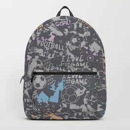Art Football Backpack