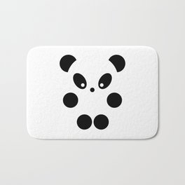 Little panda #society6 #decor #buyart #artprint Bath Mat
