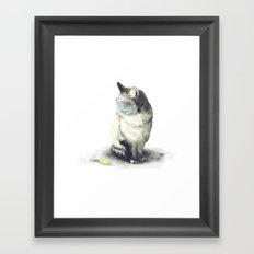 _all you need is in your head Framed Art Print