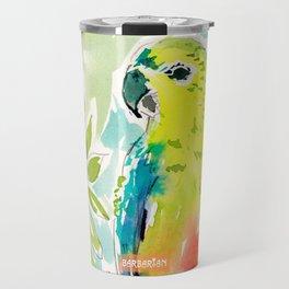 CUTIE the Orange-bellied Parrot Travel Mug