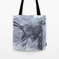 The Bearded Crow Tote Bag