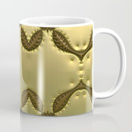 Silky Red and Gold Frieze Coffee Mug
