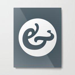 Ampersand Series - #1 Metal Print