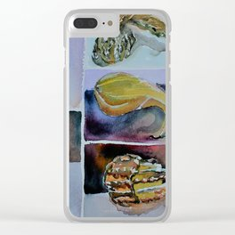 Autumn Gourd Clear iPhone Case