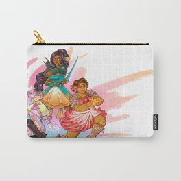 Magical Girl Floral Fighter Squad Carry-All Pouch