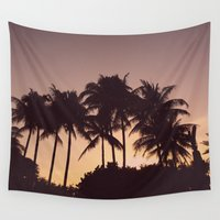 florida Wall Tapestries featuring Florida by Whitney Retter