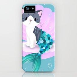Purrmaid, Mercat, Kitty Mermaid iPhone Case