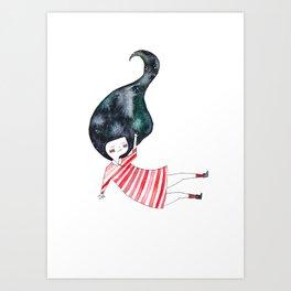 two of three sisters Art Print