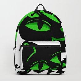 Cat Gothic Goth Halloween Horror Miau gift Backpack