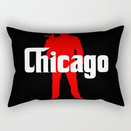 Chicago mafia Rectangular Pillow