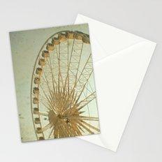 Golden Wheel Stationery Cards