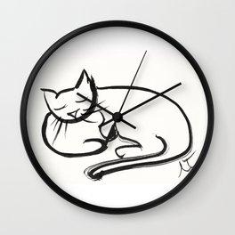 Cat II Wall Clock
