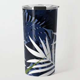Bold Tropical Paradise Design Travel Mug