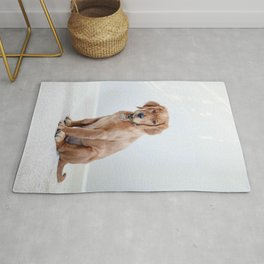 Dog by Maddy Baker Rug