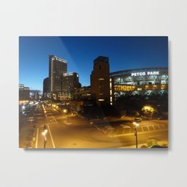 Petco Park at Night Metal Print