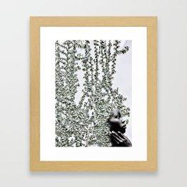 Green spirit Framed Art Print