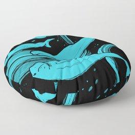 Beluga Whale Pod (Blue Variant) Floor Pillow