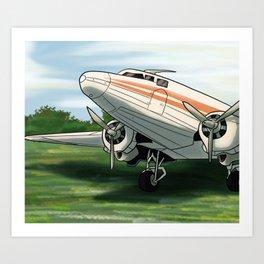 DC-3/C-47 Art Print