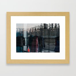 Juxtaposed  Framed Art Print
