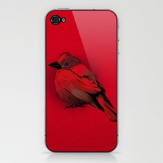 Little Red Bird iPhone & iPod Skin