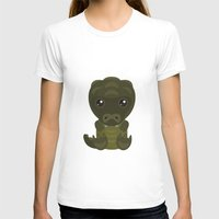 crocodile T-shirts featuring Crocodile by triduscraft