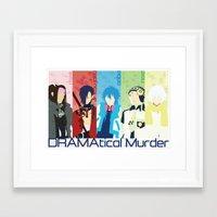 dmmd Framed Art Prints featuring DMMD by Ocelotdude Designs