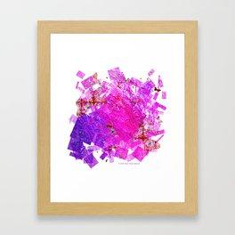 """""""Butterflies And Confetti"""" Framed Art Print"""