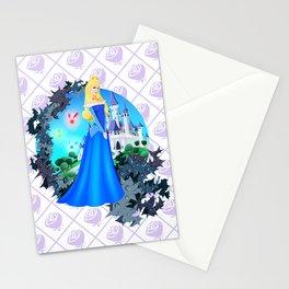 Team Blue Dress Stationery Cards