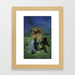 Ghost Boy Framed Art Print