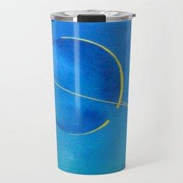 Saturn From Titan Travel Mug
