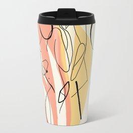 Abstract Love Travel Mug