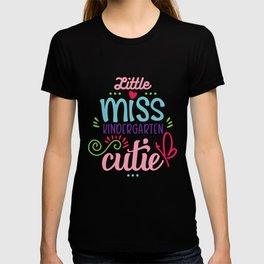 Little Miss Kindergarten Cutie T-shirt