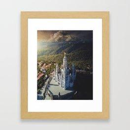 Temple of the Sacred Heart of Jesus Framed Art Print