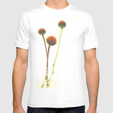 In the Simple Things Mens Fitted Tee MEDIUM White